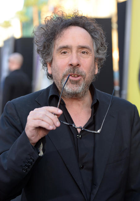 Director Tim Burton at the California premiere of